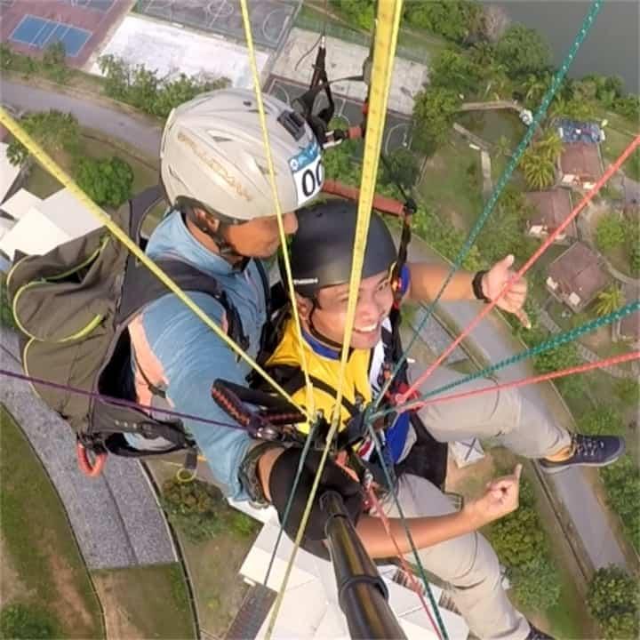 Paragliding Kuala Kubu Bharu (Cloud Bass)