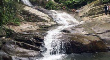 Sungai Lepoh Waterfall